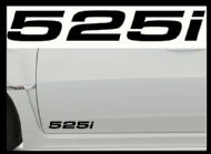 BMW 525i CAR BODY DECALS
